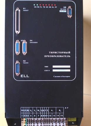 ELL4007 привод главного движения