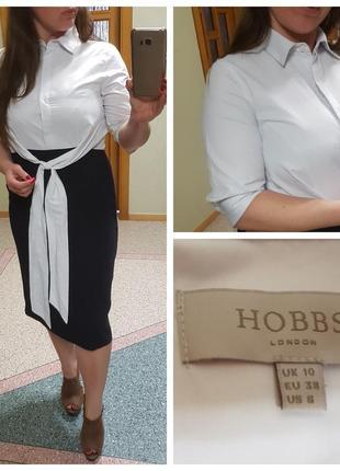 Черно-белое платье hobbs классика