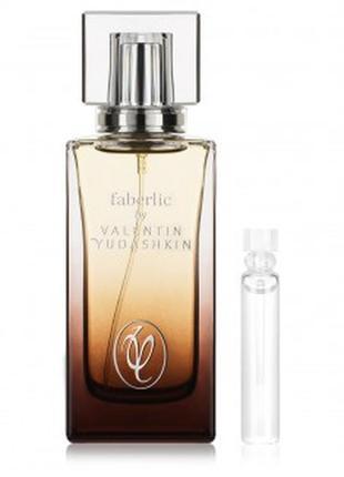 Пробник парфюмерной воды для мужчин faberlic by valentin yudas...