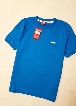 Slazenger детская подрастковая футболка оригинал хлопок 9 10 1...