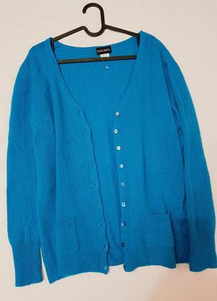 Laura kent кашемировый свитер 100%кашемир xxxxl