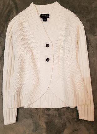 Brooks brothers saxxon кардиган свитер m-l шерсть
