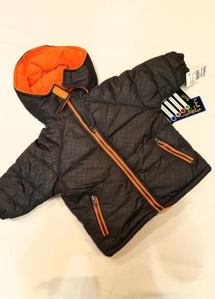 Куртка парка на теплой флисовой подкладке наполнитель халлофайбер
