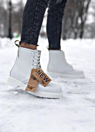 💞🍁✳️женские ботинки dr martens 1460 white✳️🍁💞зимние/демисезон ...