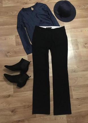 Тёплые плотные штаны брюки от next для высоких девушек pp 10l/m