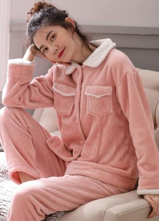 Пижама женская, домашний костюм