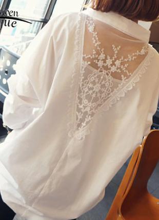 Нарядная офисная блузка
