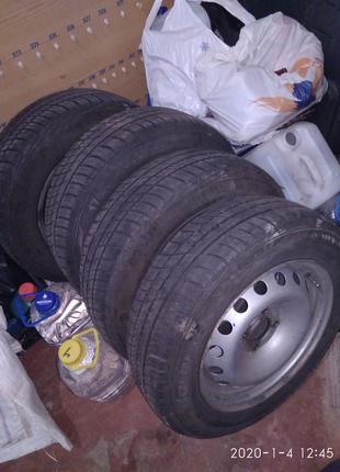 Літні шини Барум з дисками на Рено Кенго