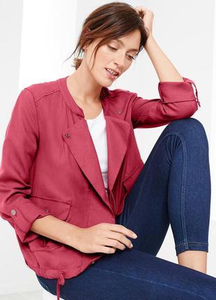 Весенняя куртка-пиджак tcm tchibo германия размер евро 40