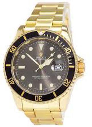 Часи Rolex Submariner 2128 Gold-Black