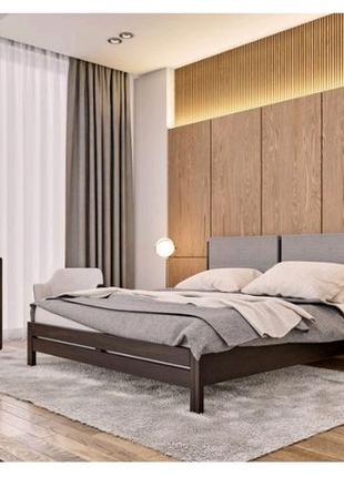 Кровать Астра (160*200) из бука. Бесплатная доставка Новой почтой