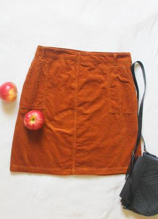 Классная вельветовая юбочка от tu, размер 3xl