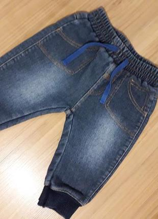 Супер джинсики на малыша 3-6 месяцев next