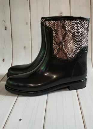 Резиновые женские утепленные сапоги,полусапожки,ботинки,обувь ...