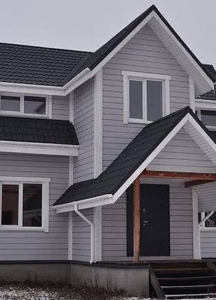 Строительство каркасных домов под ключ в Днепре