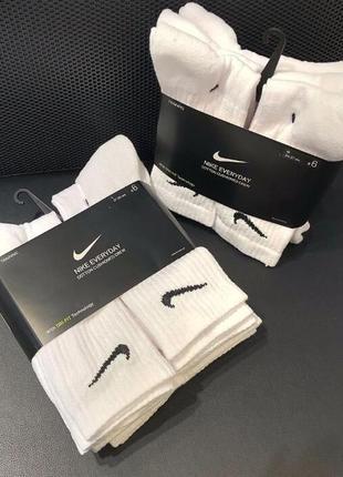Комплект 6 шт носки шкарпетки nike everyday jordan (m-l) ориги...