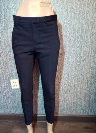 Супер брюки штаны укороченные с подворотом. zara.