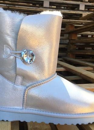 "Женские угги ugg bailey button ii boot leather ""i do"""