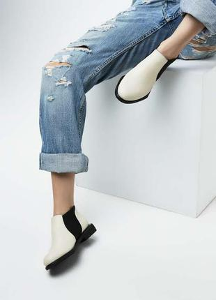 Демисезонные  женские ботинки  челси честеры  36-40р.