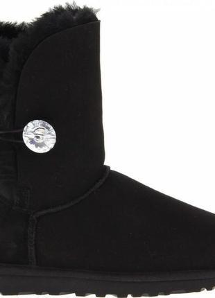 Женские угги bailey button bling 24.5-25см ugg