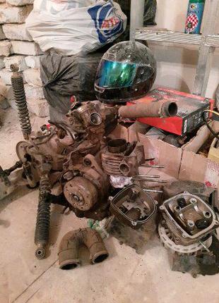 Двигатель 157qmj, GY6, Viper Volcano, Tiger 150