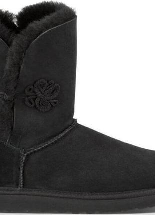 "Женские угги ugg bailey mariko boot ""black"""