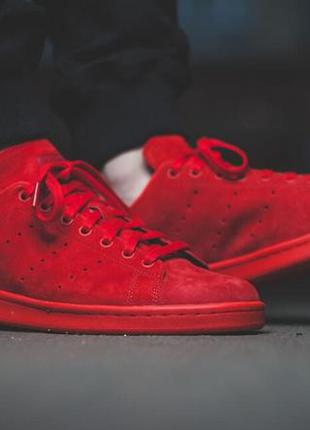 Adidas stan smith full red 44р. 28см