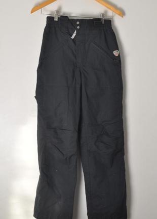 Лыжные штаны с подтяжками. теплые спортивные штаны