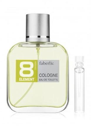 Пробник туалетной воды для мужчин 8 element cologne faberlic 3...