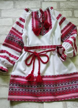 Платье вишиванка  86-164р