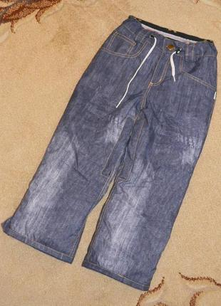 Термо брюки лыжные  2117 of sweden р. 8 лет 128 см