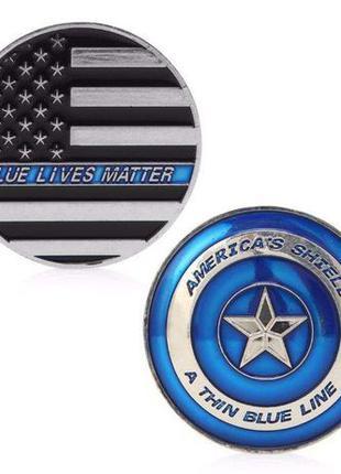 Памятная Медаль Монеты Линия жизни Полиции Америка США
