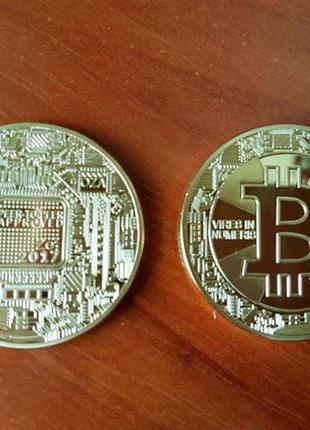 Bitcoin Биткоин Золото 2017г. монета сувенирная