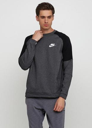Кофта свитшот худи nike sportswear advance 15 оригинал! - 25%