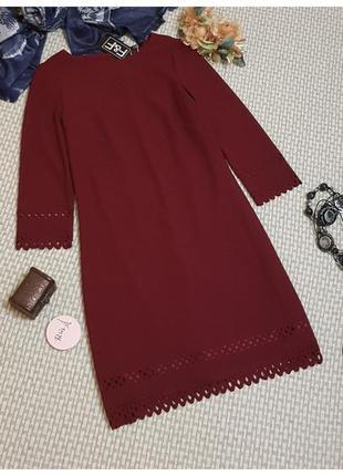 Платье фактурное f&f/платье миди