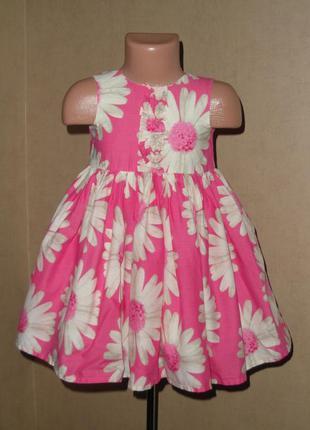 Платье next на 12-24 мес., очень пышное и нежное