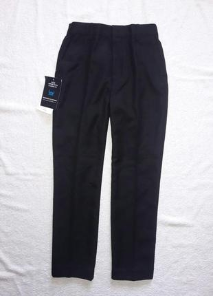 Классические черные брюки, штаны на 9-10 лет