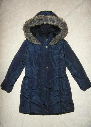 Теплая демисезонная удлиненная куртка - пальто jasper conran  ...