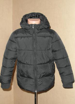 Куртка еврозима, демисезонная bluezoo на 5-6 лет, дутая , теплая