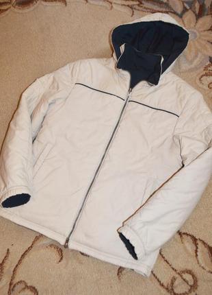 Куртка двухсторонняя деми nike р.m