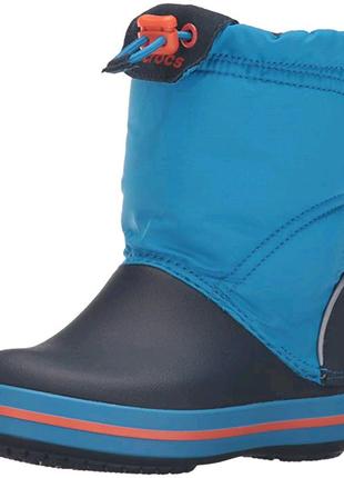 Сапоги детские С11-J3 crocs crocband lodgepoint boot snow оригина