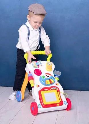 Детская каталка-ходунки