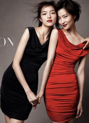 Эластичное платье h&m