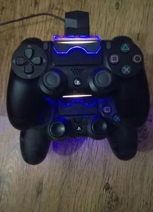 Подставка / Зарядка для джойстиков PS4 / Playstation 4 / Док-стан
