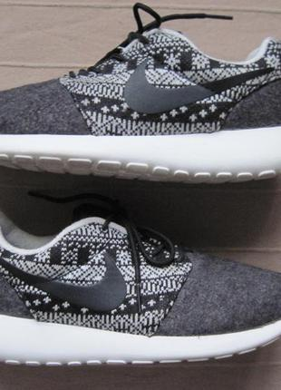 Nike roshe one winter (38) кроссовки женские теплые оригинал