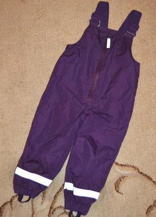 Полукомбинезон,дождевые брюки topomini р.92 см 2 года