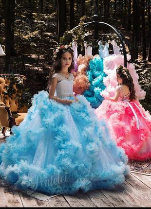 Пошив детских нарядных платьев на выпускной.