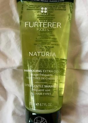 Rene furterer 200 мл furterer naturia extra нежный шампунь для...