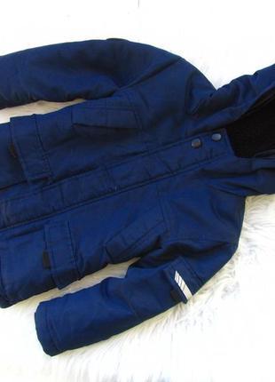 Стильная теплая  парка куртка  с капюшоном rebel