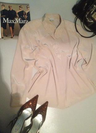 Красивая блуза большого размера.1068